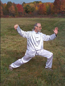 Bill VandenBoom doing T'ai Chi